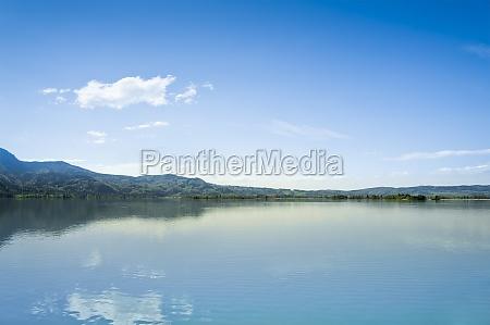 kochel lake in bavaria germany