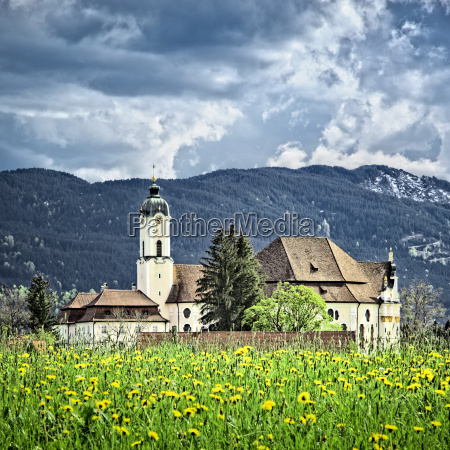 wieskirche in bavaria germany