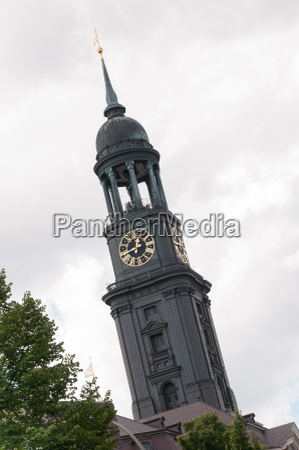 main church sankt michaelis in hamburg