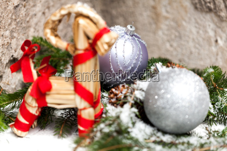 silver christmas bauble jewelry with deer