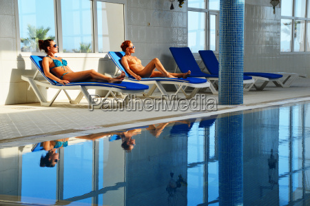 two, young, women, at, the, swimming - 11945629