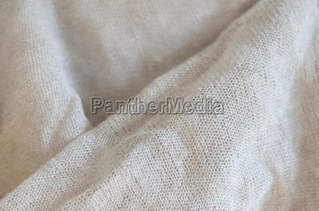 linen fabric with structural effect