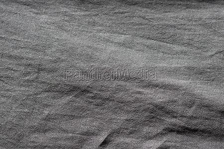 black linen cloth