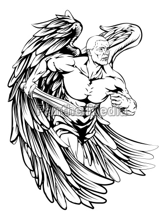 sword angel character