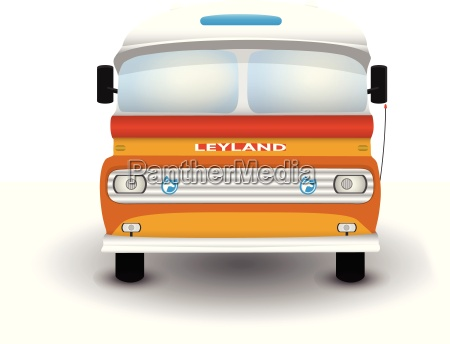 illustration of a typical maltese bus