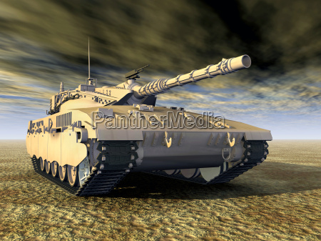 israeli battle tank