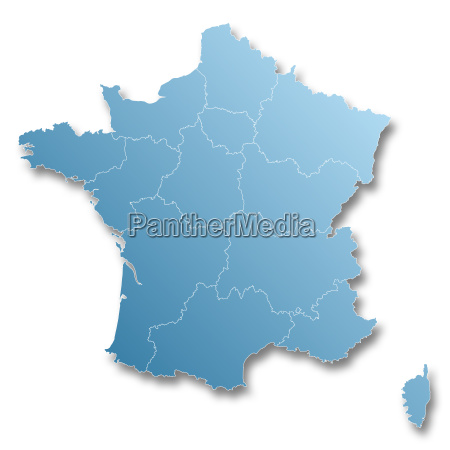 map of new regions of france
