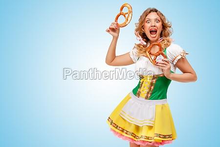 starving for pretzels