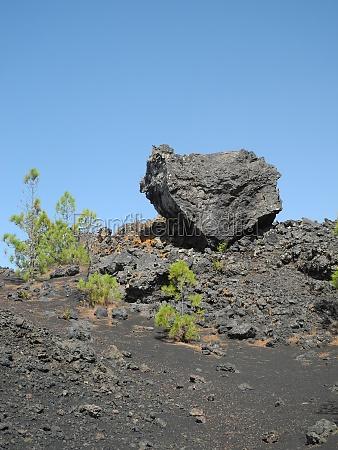 lava at volcan garachico tenerife