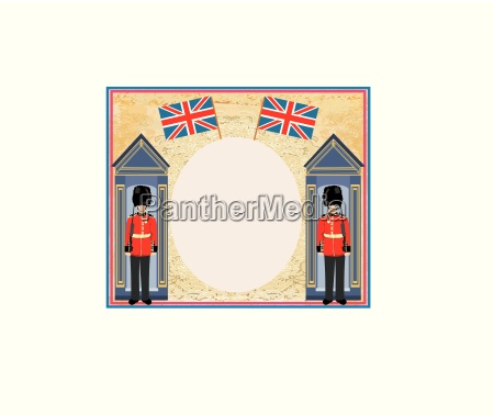 abstract background with flag england and