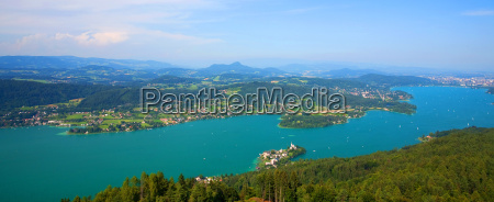 woerthersee in austria