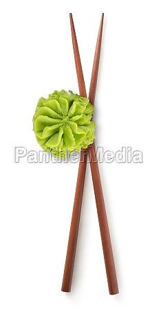 chinese sticks and wasabi