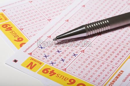 lotto, schein - 12063061