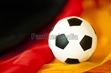 german flag with national colours