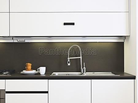 mobiliario horizontalmente cozinha horizontal casa plano