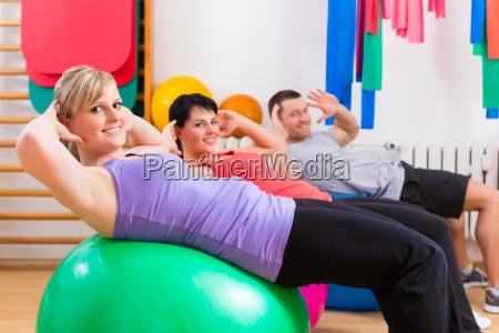 patients in the physiotherapy