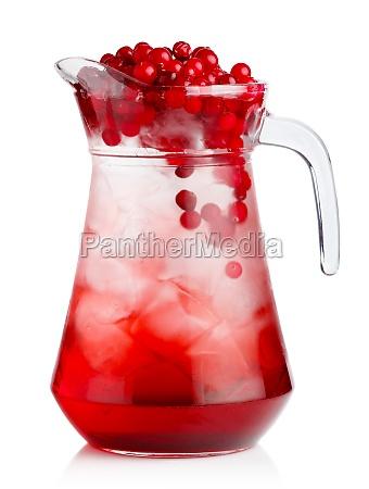 full jug of fresh cranberries nonalcoholic