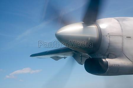 running propeller