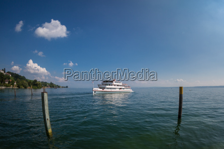 people ferry on lake constance
