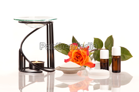 room scentwith fragrance lamp and scented
