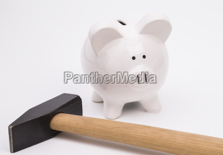 provision save piggybank issue sledges gavel