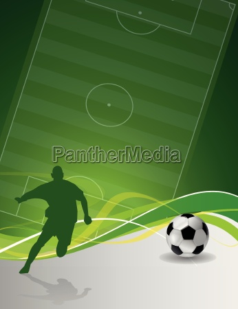 abstract green soccer background