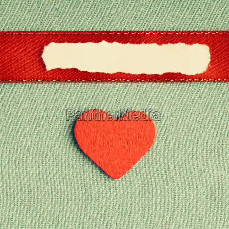 valentines day background blank paper heart