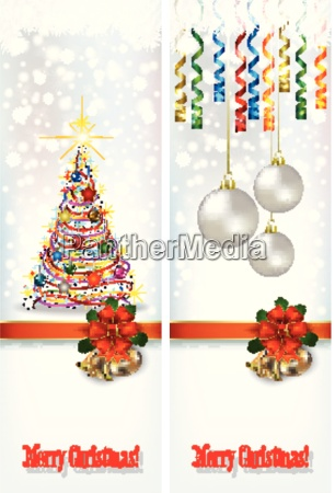 abstract celebration greetings with christmas illustrative