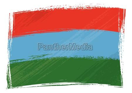 grunge karelia flag
