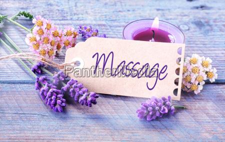 spa massage background