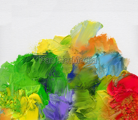 colorful textures canvas