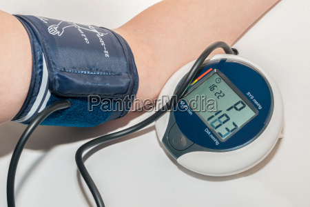 when measuring blood pressure
