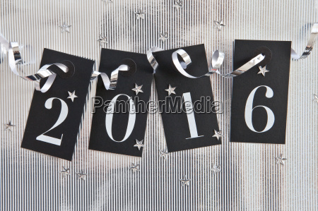 2016 silver background