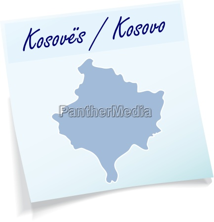 kosovo as a notepad