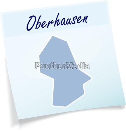 oberhausen as a note