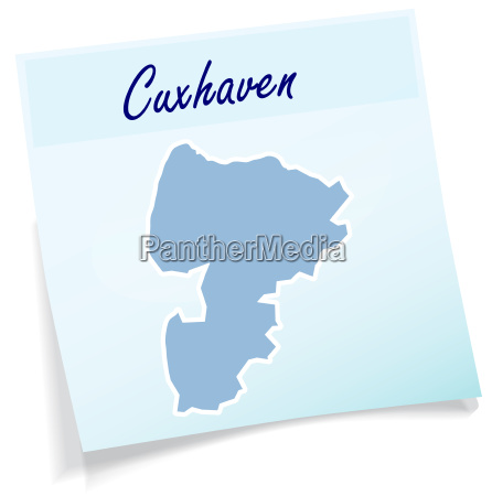 cuxhaven as sticky note