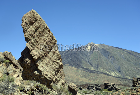 roque torrotito and teide teneriffa