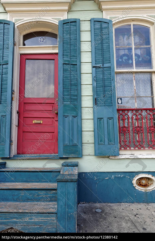 french, quarter, -, door - 12380142