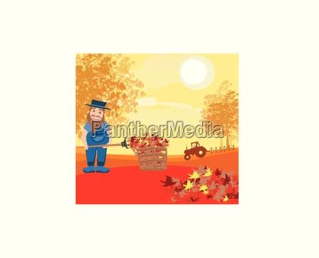 autumn cleanup