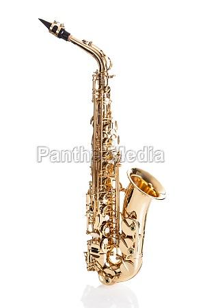 close up of trumpet
