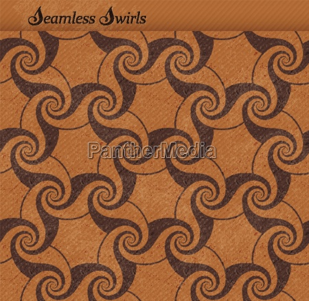 seamless pattern with swirls grunge background
