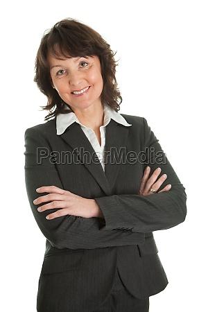 portrait of sucessful senior businesswoman