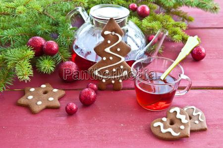 tea and plaetzchen