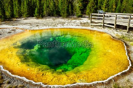 detail, view, of, geothermal, pool, morning - 12426010