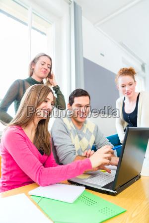 estudio aprender los estudiantes universidad institucion