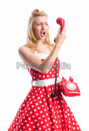 a pin up girl roars into