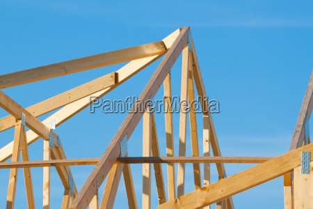 new residential construction roof framing
