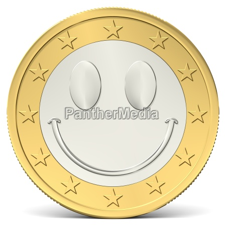 a euro smiley cheerful 2