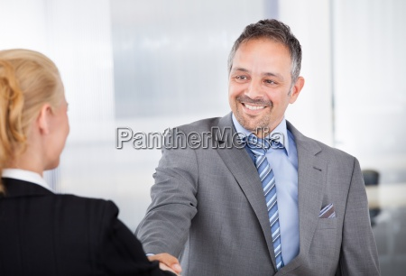 portrait of successful businessman at the