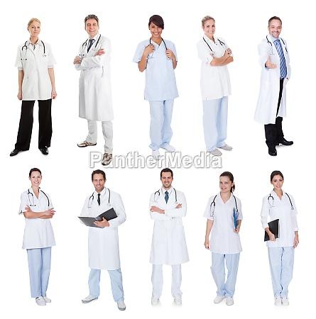 medical workers doctors nurses